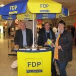 Wahlstand im Leine-Center 11.01.2013