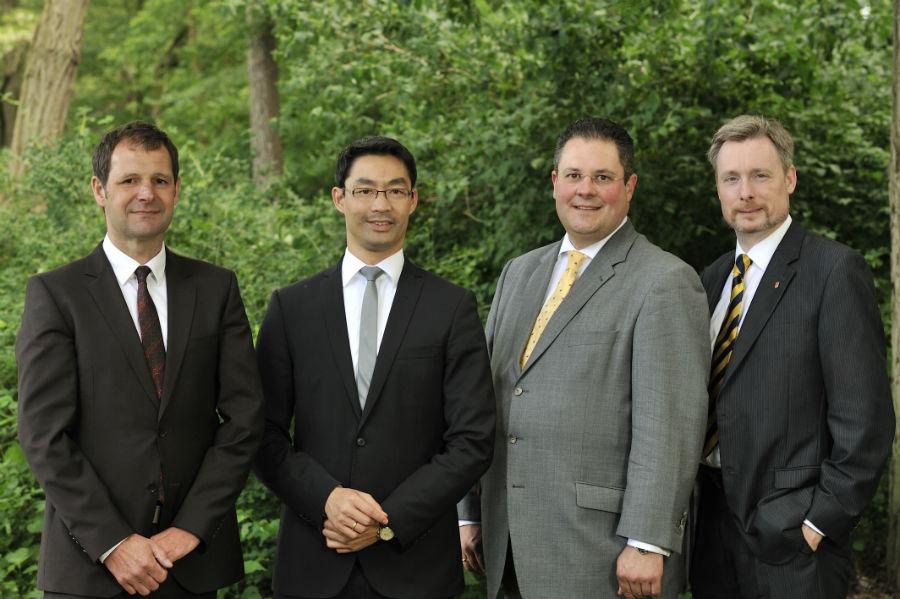 Die vier FDP-Bundestagskandidaten aus der Region Hannover