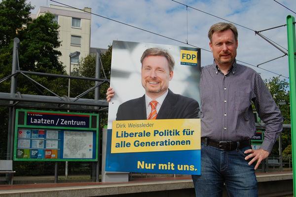 Dirk Weissleder in seiner Heimatstadt Laatzen
