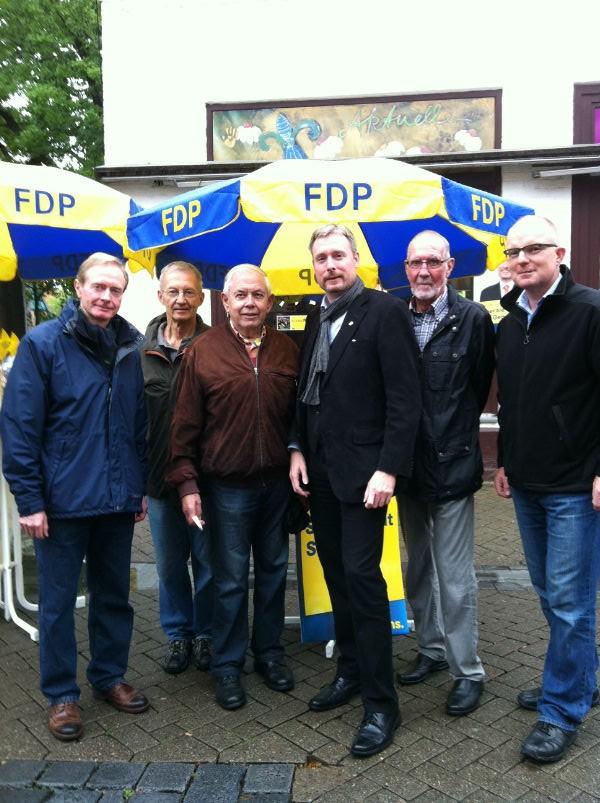 Wahlstand in Gehrden