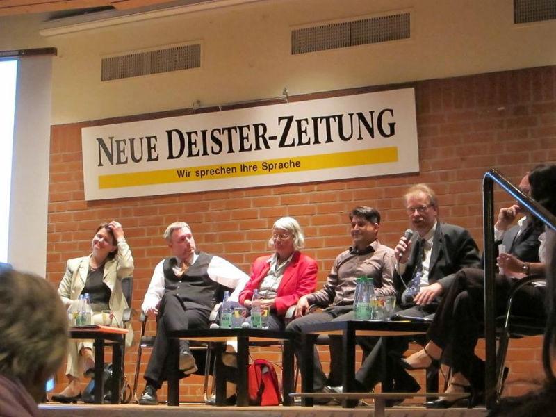 Podium der Neuen Deister Zeitung (NDZ)