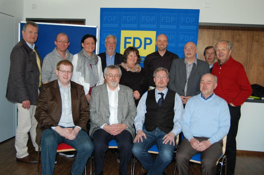 Die Teilnehmer des 1. Liberalen Familientreffens in Laatzen am 29.03.2014
