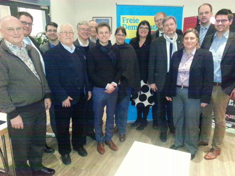 Der neue FDP-Bezirksvorstand Hannover-Hildesheim
