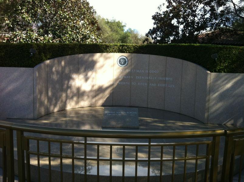 Grab von Ronald Reagan
