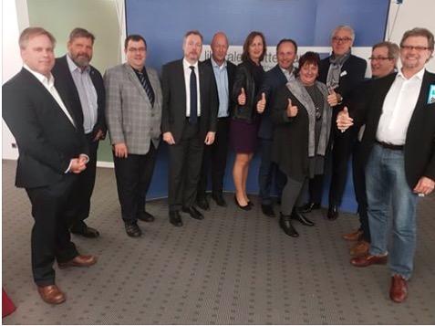 Der neue LIM-Bundesvorstand am 12.11.2016 in Essen